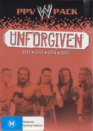 WWE - Unforgiven: PPV Pack (4 Disc Box Set) on DVD image