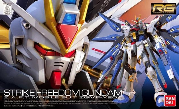 RG 1/144 ZGMF-X20A Strike Freedom Gundam - Model Kit