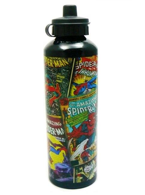 Marvel Spider-Man Comic Aluminum Drink Bottle image