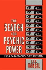 The Search For Psychic Power by C.E.M. Hansel image