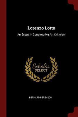 Lorenzo Lotto by Bernard Berenson