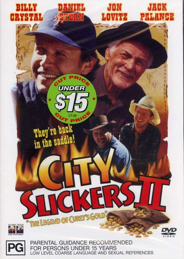 City Slickers 2 - The Legend of Curly's Gold on DVD image