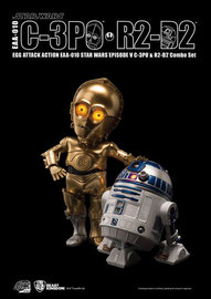 Star Wars: C-3PO & R2-D2 - Egg Attack Action Figure Set