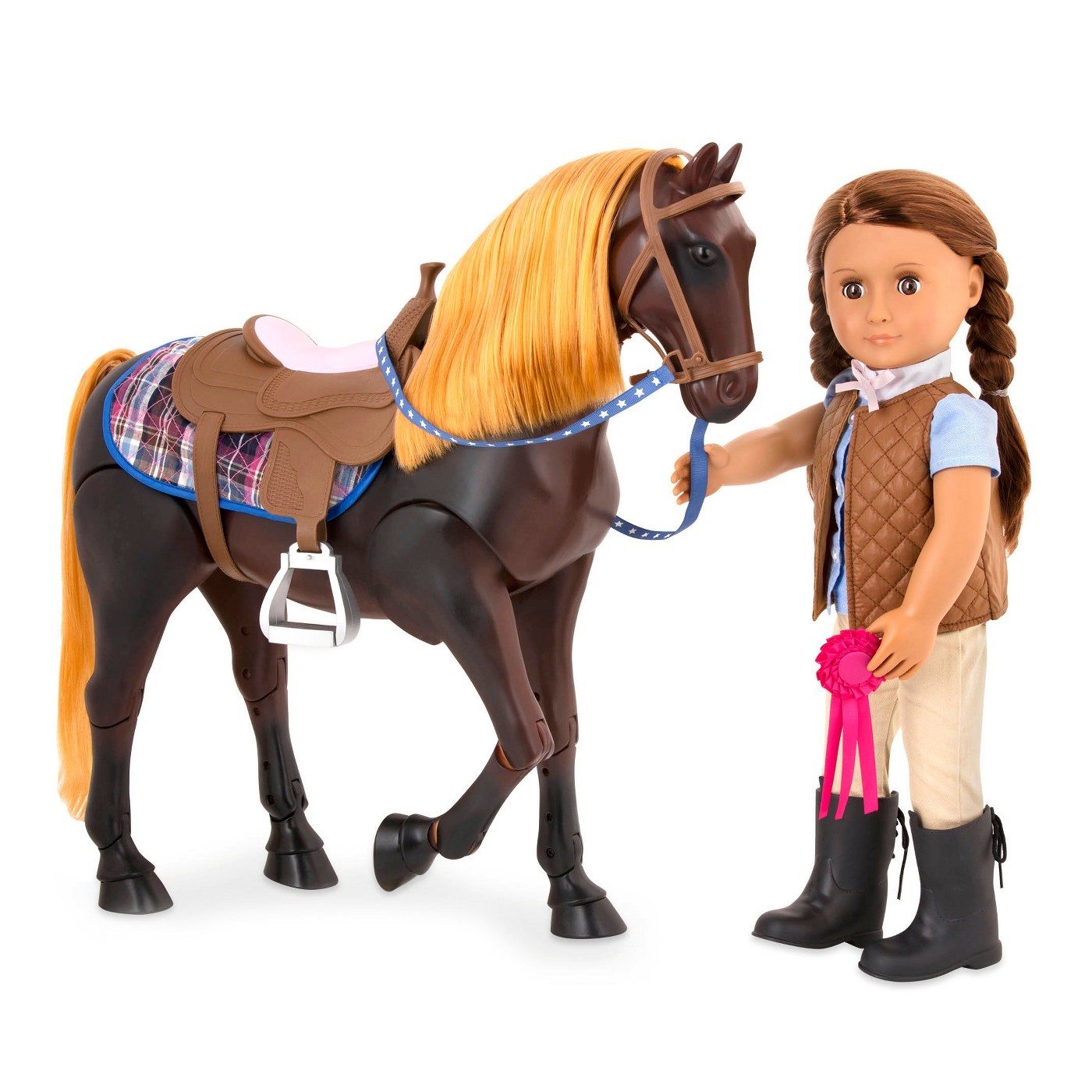 Our Generation - Horse Thoroughbred (Posable) image