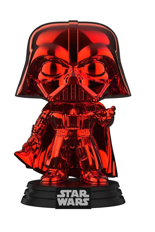 Star Wars - Darth Vader (Red Chrome) Pop! Vinyl Figure