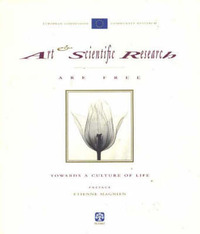 Art and Scientific Research are Free by European Commission - Community Research image
