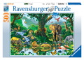 Ravensburger 500 Piece Jigsaw Puzzle - Harmony in the Jungle