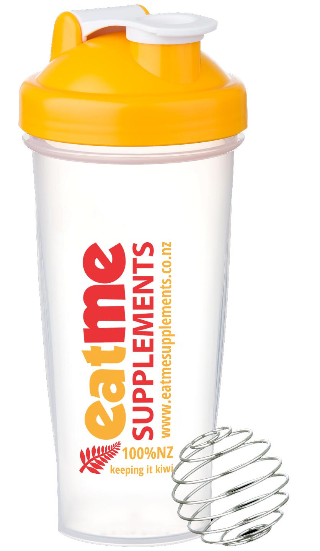 Eat Me Large Shaker 600ml - Yellow Cap image