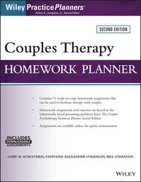Couples Therapy Homework Planner by Gary M. Schultheis