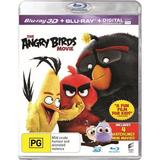 The Angry Birds Movie on Blu-ray, 3D Blu-ray, UV