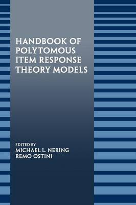 Handbook of Polytomous Item Response Theory Models image