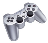 Dual Shock 2 Controller: Silver for PlayStation 2