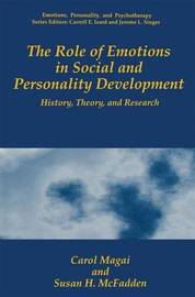 The Role of Emotions in Social and Personality Development by Carol Magai