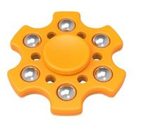 Hex Fidget Spinner - Yellow