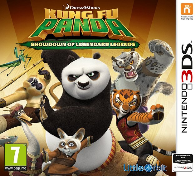 Kung Fu Panda: Showdown of Legendary Legends for Nintendo 3DS