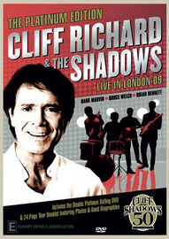 Cliff Richard and the Shadows - Platinum Edition on DVD