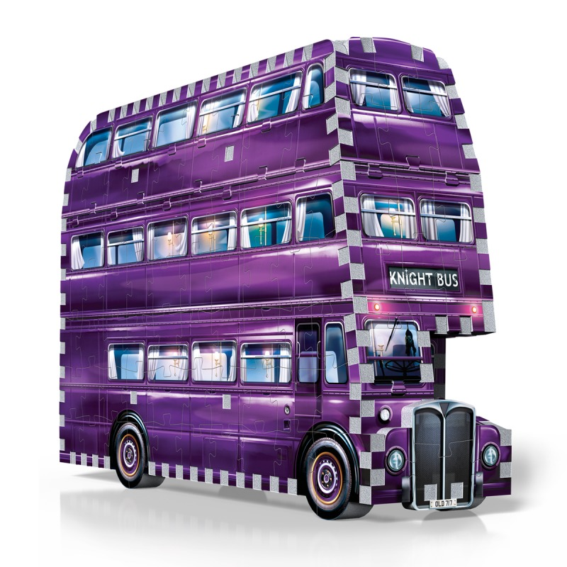 Harry Potter: 280pc 3D Puzzle - The Knight Bus image