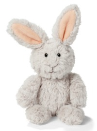 Nici: Easter Rabbit (Grey) - Small Dangling Plush