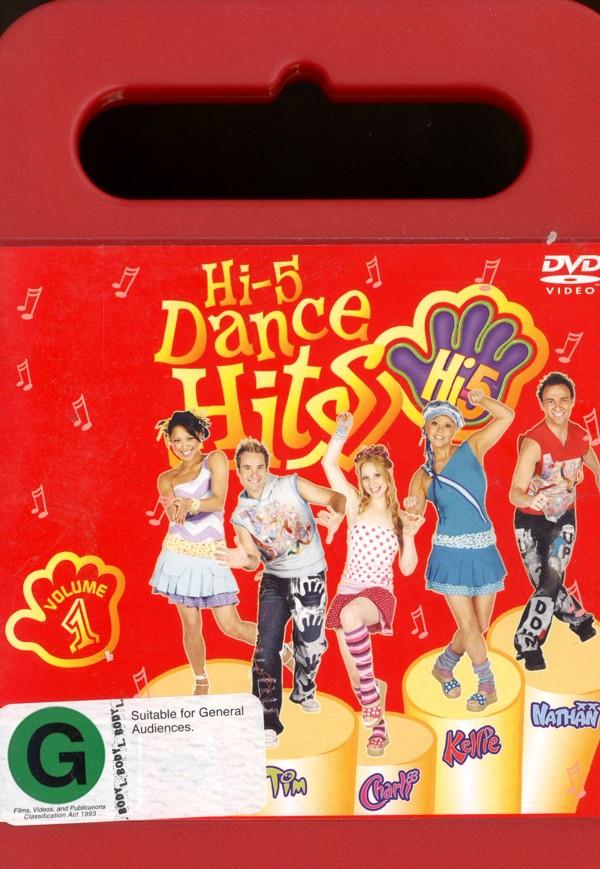 Hi-5 - Dance Hits Volume 1 on DVD image