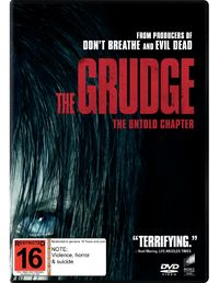 The Grudge (2020) on DVD image