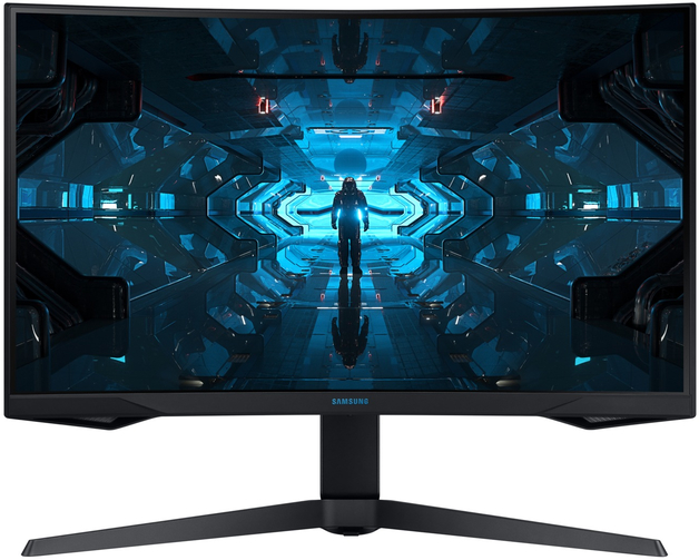 "27"" Samsung Odyssey G7 1440p 240Hz 1ms G-Sync HDR Curved Gaming Monitor"