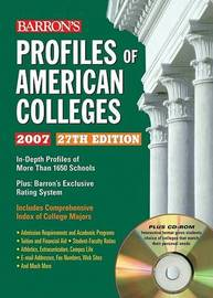 Profiles of American Colleges image