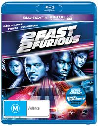2 Fast 2 Furious UV on Blu-ray