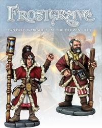 Frostgrave - Chronomancer and Apprentice