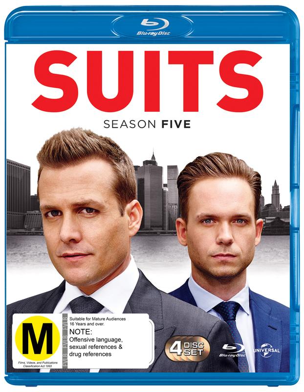 Suits - Season Five on Blu-ray