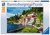 Ravensburger: Lake Como, Italy- 500pc Puzzle