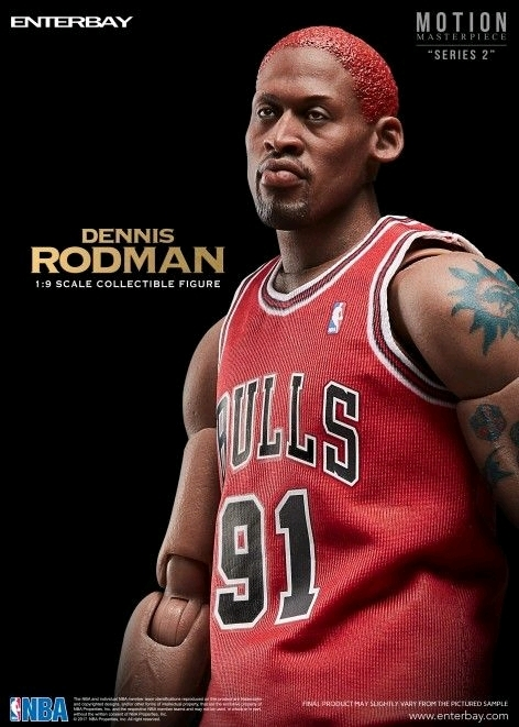 NBA: Dennis Rodman - 1/9 Scale Action Figure