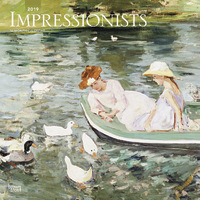 Impressionists 2019 Square Wall Calendar
