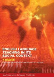 English Language Teaching in Its Social Context by Neil Mercer image
