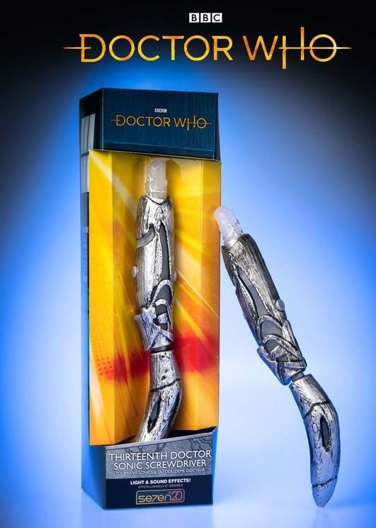DOCTOR WHO Character The Other Doctor/'s Sonic Screwdriver with Light /& Sound