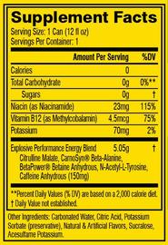 Cellucor: C4 Carbonated On-The-Go RTD - Frozen Bombsicle (12x355ml)