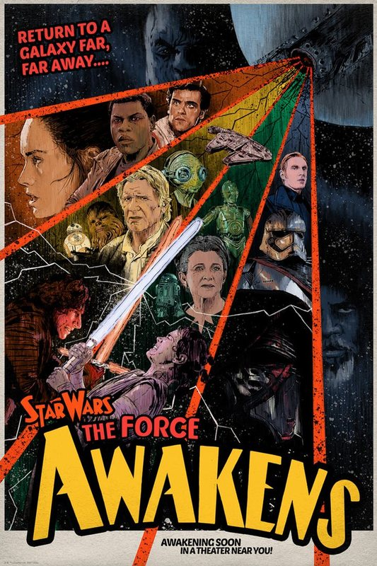 Star Wars: Awakening Soon by J.J. Lendl - Lithograph Art Print