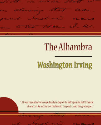 The Alhambra - Washington Irving by Irving Washington image