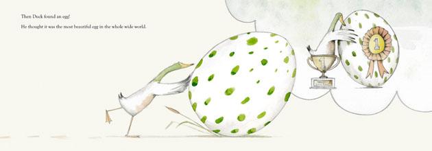 The Odd Egg by Emily Gravett image
