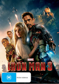 Iron Man 3 on DVD