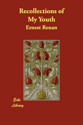 Recollections of My Youth by Ernest Renan image