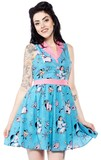 Sourpuss Elephants June Dress (Medium)