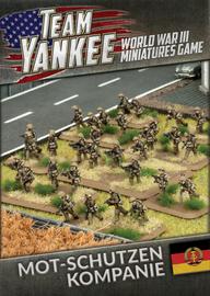 Flames of War: Team Yankee East German Mot-Schutzen Kompanie (73 figures)