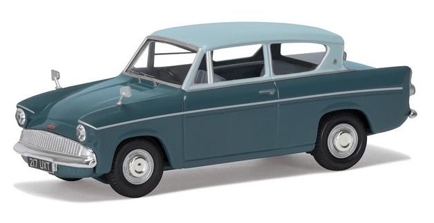 Corgi: 1/43 Ford Anglia 105E DeLuxe - Diecast Model