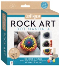 Craftmaker: Rock Art - Dot Mandala