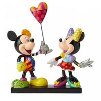 Disney Britto: Designer Figure - Mickey & Minnie with Balloon