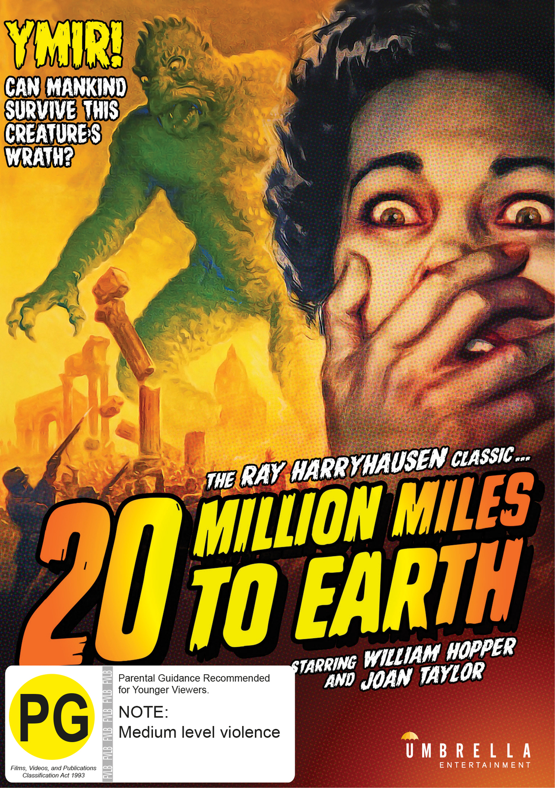 20 Million Miles to Earth on DVD image