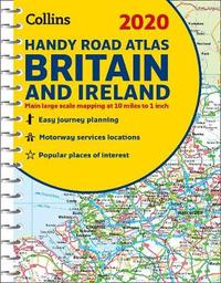 2020 Collins Handy Road Atlas Britain and Ireland by Collins Maps