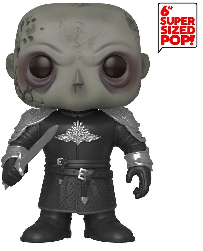 "Game of Thrones -The Mountain (Unmasked) 6"" Pop! Vinyl Figure image"