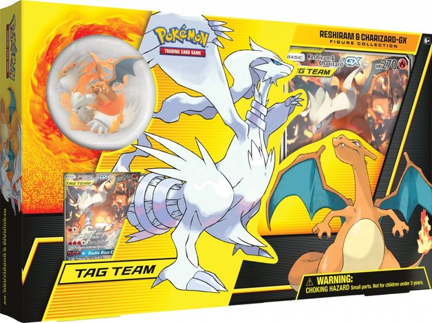 Pokemon TCG: Reshiram & Charizard GX Premium Collection