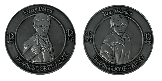 Harry Potter: Collectible Coin - Harry and Ron (2-Pack)